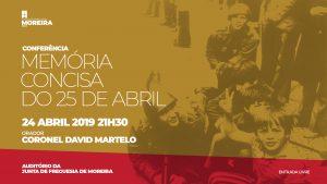 Conferência - Memória Concisa do 25 de Abril